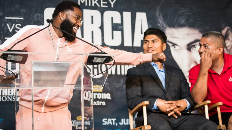 Adrien Broner: 500,000 reasons to make weight vs. Mikey Garcia