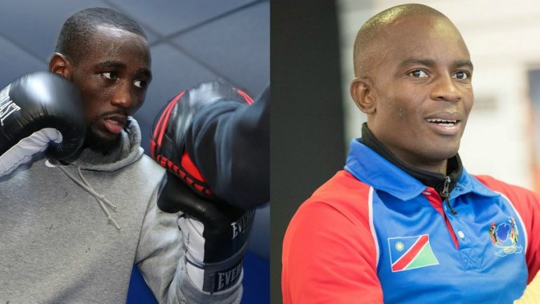 Terence Crawford-Julius Indongo set for August 19