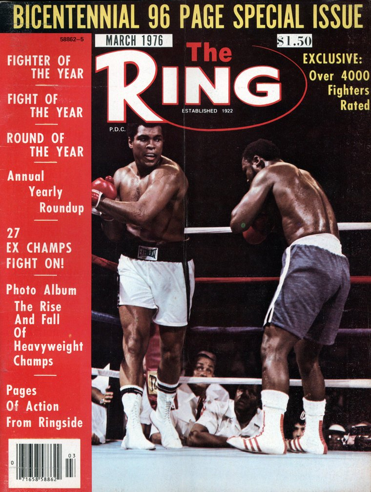 rsz gettyimages 158471235 - Ali-Frazier 3, The Thrilla in Manila, sweeps 1975 year-end awards