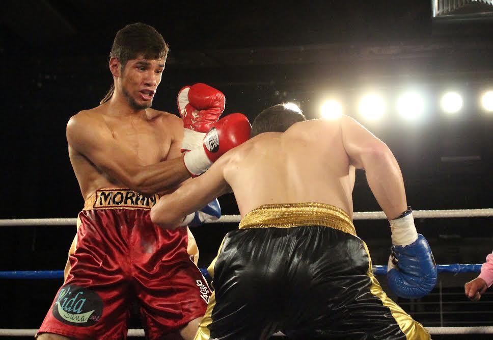 Antonio Moran - Antonio Moran vs. Luis Solis to headline Boxeo Telemundo on Friday night