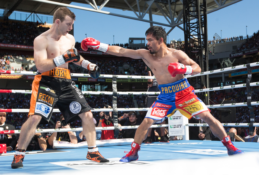 Jeff Horn Feels He Could Knock Out Manny Pacquiao In