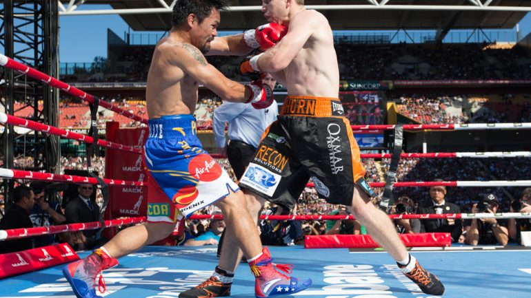Manny Pacquiao feels he was 'set up' in Jeff Horn fight