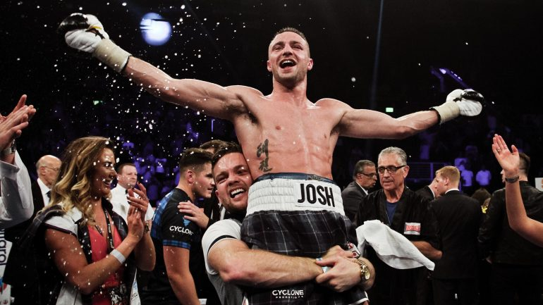 Josh Taylor demolishes Ohara Davies in seven