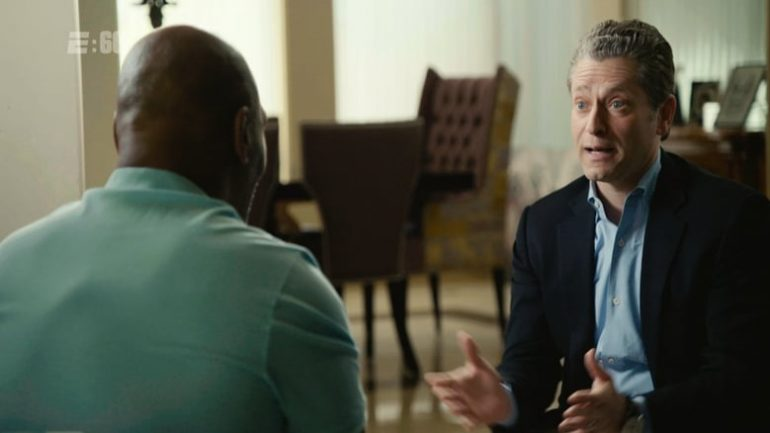 Mike Tyson discusses being molested with Jeremy Schaap