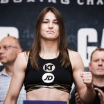 Katie Taylor Jasmine Clarkson weighin  by Amanda Westcott Showtime02 150x150 - Katie Taylor – The Third Queen