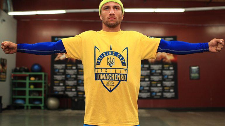Vasyl Lomachenko workout