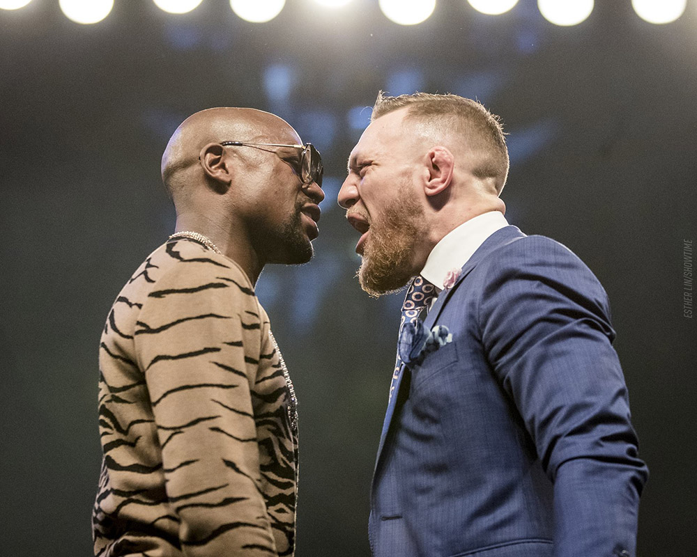 NSAC approves request by Mayweather, McGregor to wear 8 ...