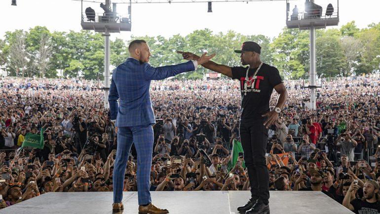 Floyd Mayweather Jr.-Conor McGregor world tour mercifully ends