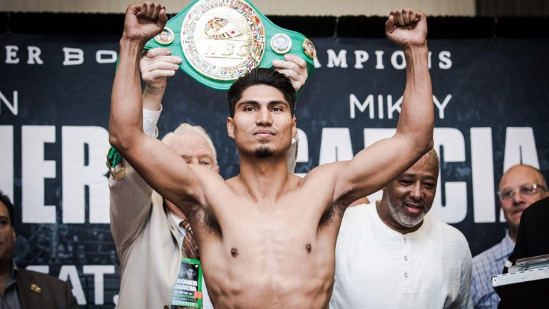 Mikey Garcia will seek title in fourth weight class against Sergey Lipinets on Feb. 10
