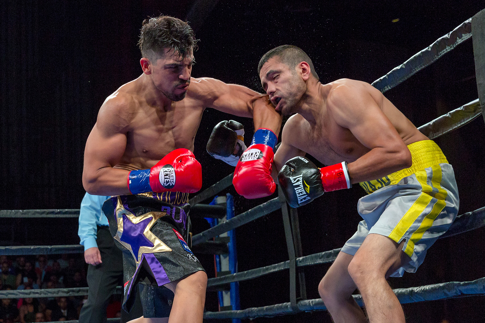 Victor Ortiz Stops Saul Corral After 15 Month Layoff The