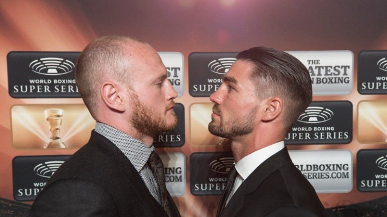 George Groves-Jamie Cox set for October 14