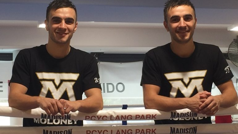 Moloney twins set for twin bill in Melbourne