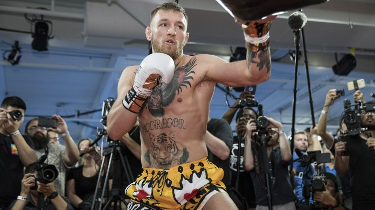 Conor McGregor is confident he can crack the Mayweather code