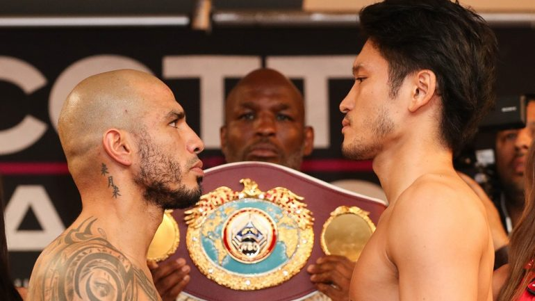 Miguel Cotto, Yoshihiro Kamegai make weight
