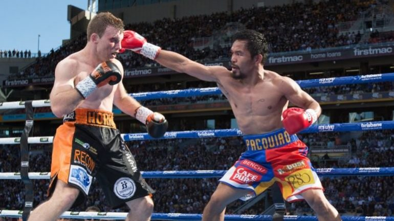 Notebook: Jeff Horn-Manny Pacquiao II slated for Nov. in Australia