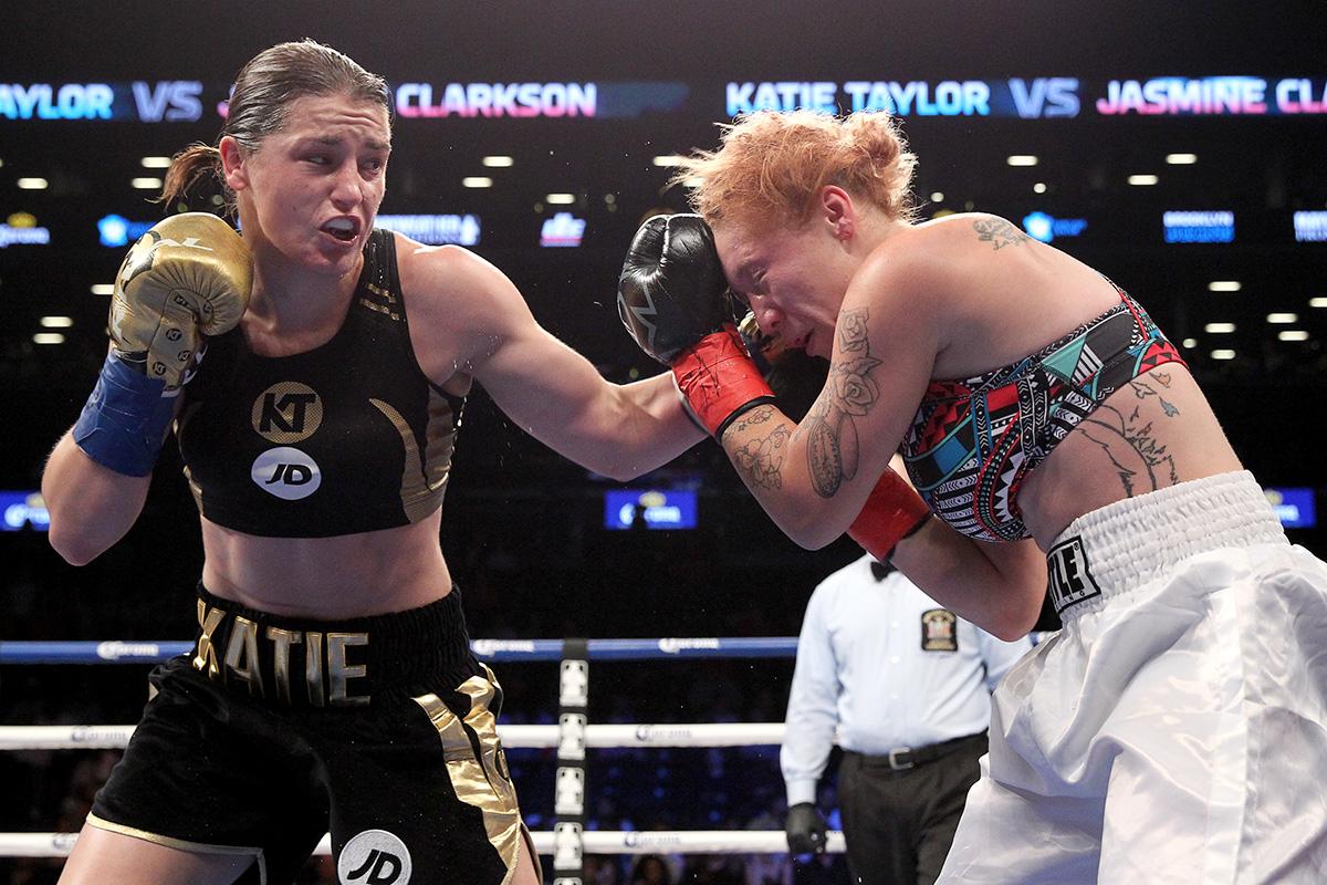 Katie Taylor vs Jasmine Clarkson ed diller dibella ent - Katie Taylor – The Third Queen
