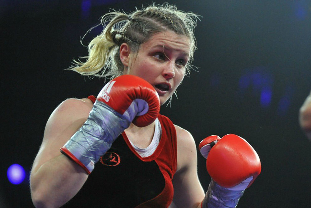 how to become a woman boxer