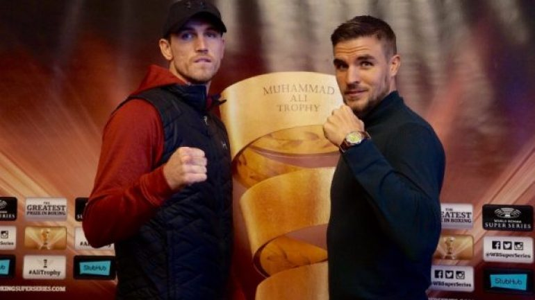 Callum Smith outpoints Erik Skoglund