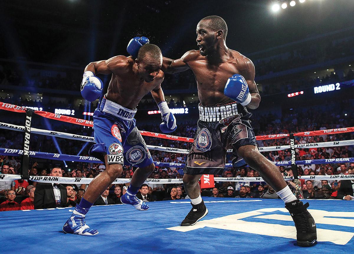 Crawford Indongo action2 mikey williams toprank - Daniyar Yeleussinov to face Julius Indongo on November 27