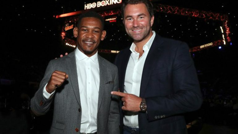 Daniel Jacobs in line to fight Canelo Alvarez on May 4 if he gets past Sergey Derevyanchenko