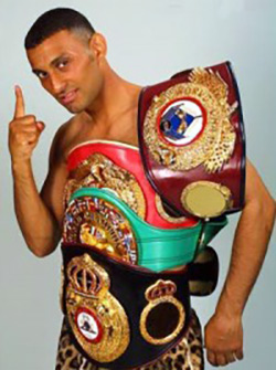 Naseem Hamed with the belts - Dougie's Friday mailbag (the best I've seen, Michael Nunn, Mike McCallum, mythical matchups)