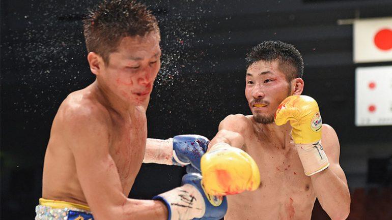 Photos: Iwasa vs. Oguni,  Tanaka vs. Chayanram