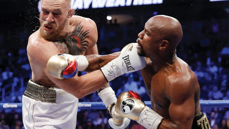 Floyd Mayweather claims he's set to begin MMA training with Tyrone Woodley