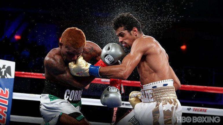 Alberto Machado upsets Jezreel Corrales with eighth-round knockout