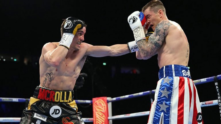 Anthony Crolla outpoints Ricky Burns in hotly contested fight