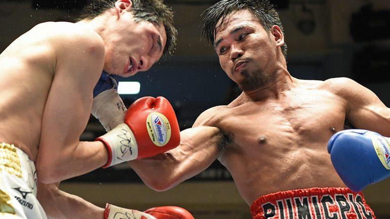 Richard Pumicpic vs. Hisashi Amagasa