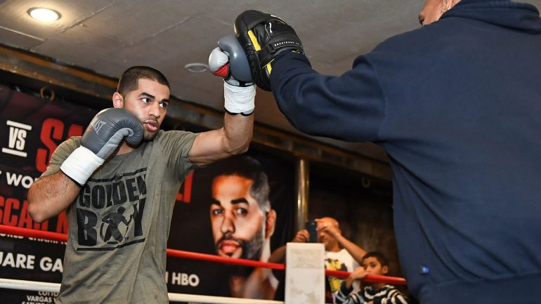 Sadam Ali: 'This is a huge opportunity for me to fight against a legend'