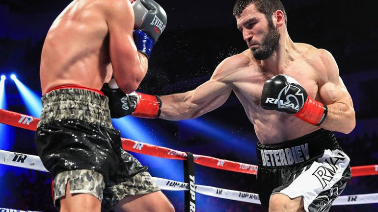 Artur Beterbiev stops Enrico Koelling in 12, wins vacant IBF light heavyweight title