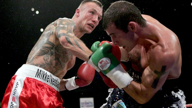 Joe Calzaghe and Mikkel Kessler look back on a super middleweight war, 10 years on