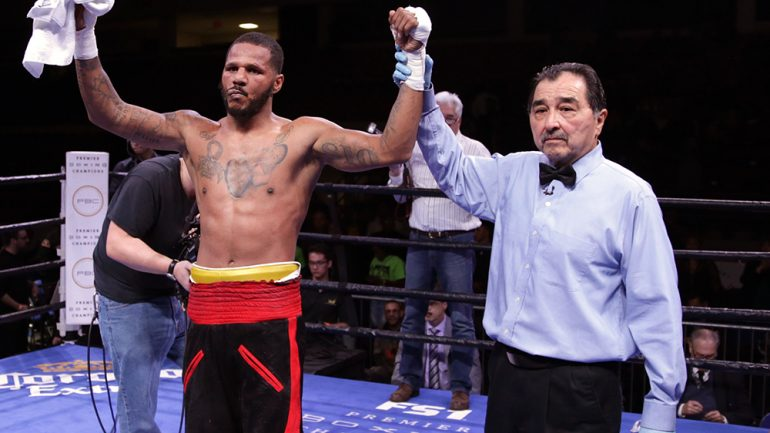 Anthony Dirrell wins after fight-ending headbutt; Denis Douglin maintains it was a punch