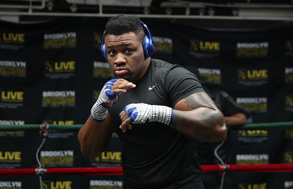 jarrell miller knows you worry about his weight dont