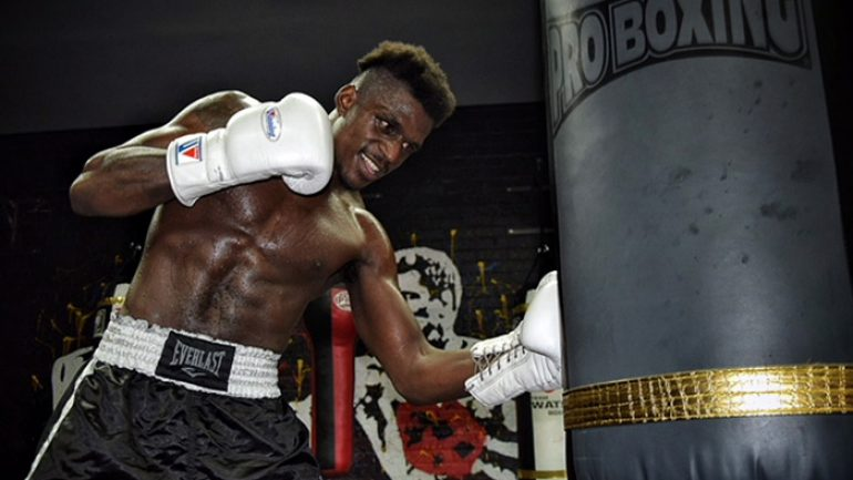 Ronald Ellis back in action tonight, eager to join 160-168-pound mix