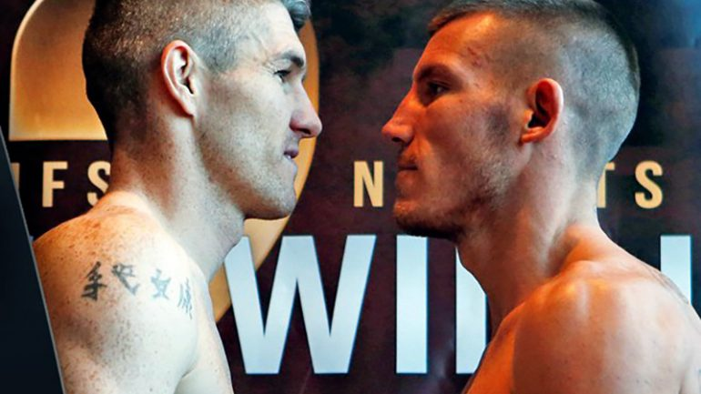 Liam Smith outpoints Liam Willaims via majority decision in 154-pound title elimination bout