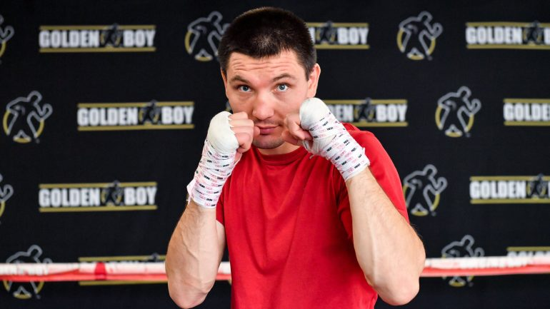 Vyacheslav Shabranskyy: It's 'all or nothing' in title fight against Sergey Kovalev
