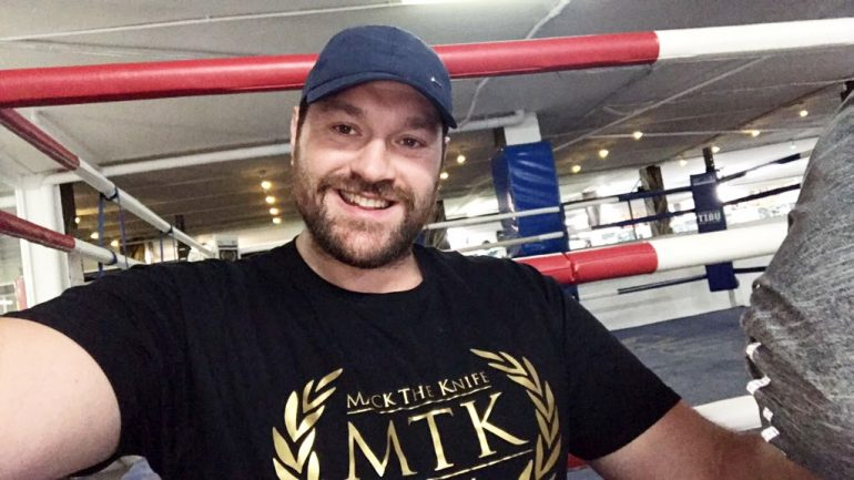 Tyson Fury one step closer to return, signs with MTK Global management