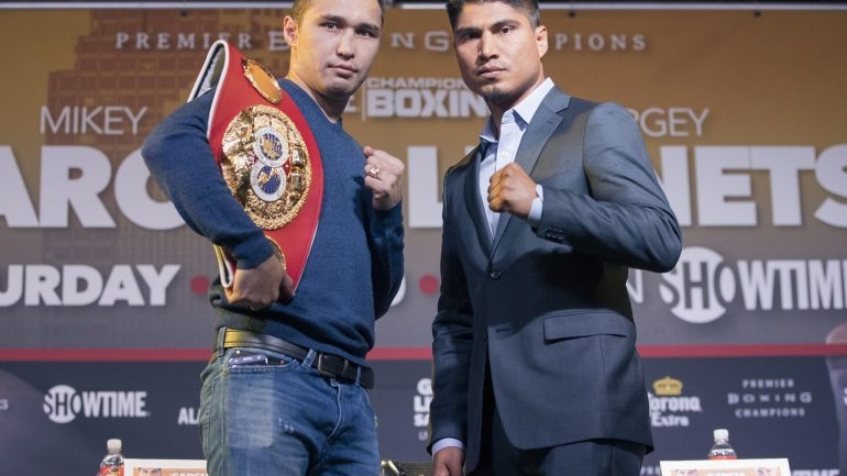 Mikey Garcia vs. Sergey Lipinets junior welterweight title fight moved to March 10