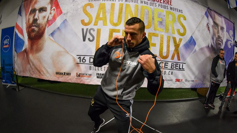 Photo gallery: Billy Joe Saunders-David Lemieux workouts