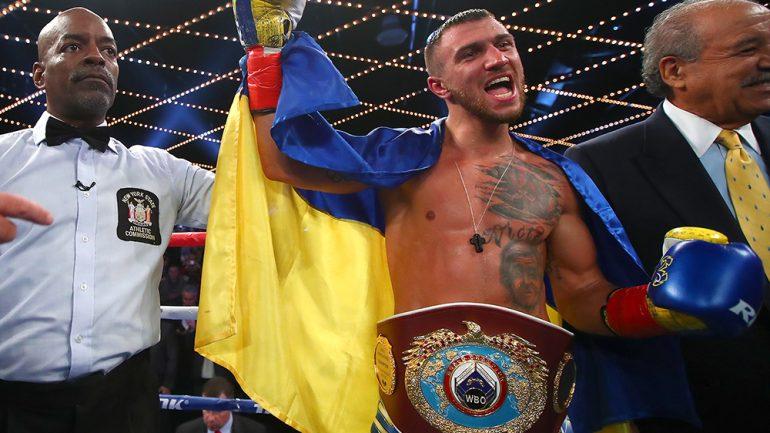 Vasyl Lomachenko: It didn't surprise me that Rigondeaux quit