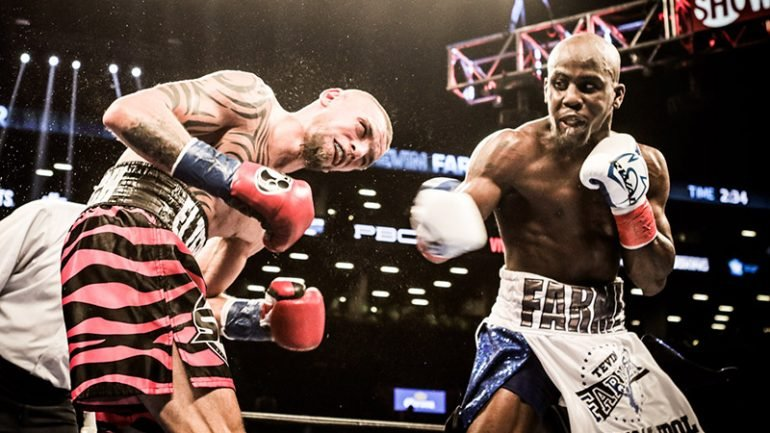 Tevin Farmer looks forward to life as a titleholder after Ogawa fight