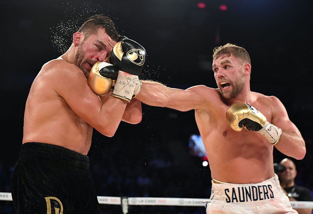 SaundersLemieux Hoganphotos1 - Billy Joe Saunders seeks convincing victory in WBO 168-pound title bout with Shefat Isufi