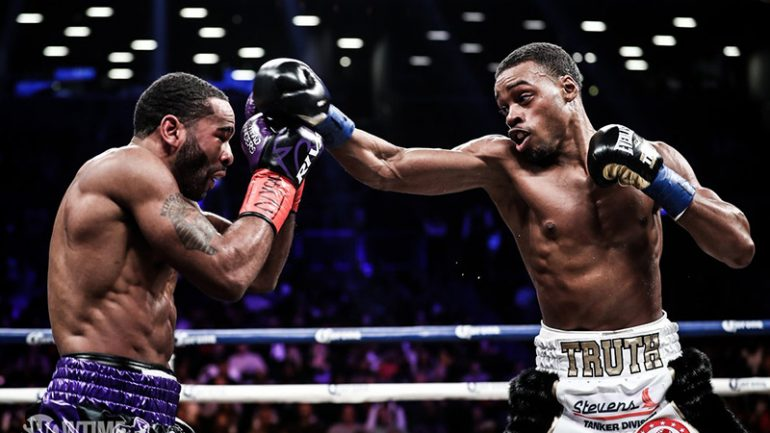 Spence states case for being best welterweight with Peterson TKO, wants Thurman showdown to prove it