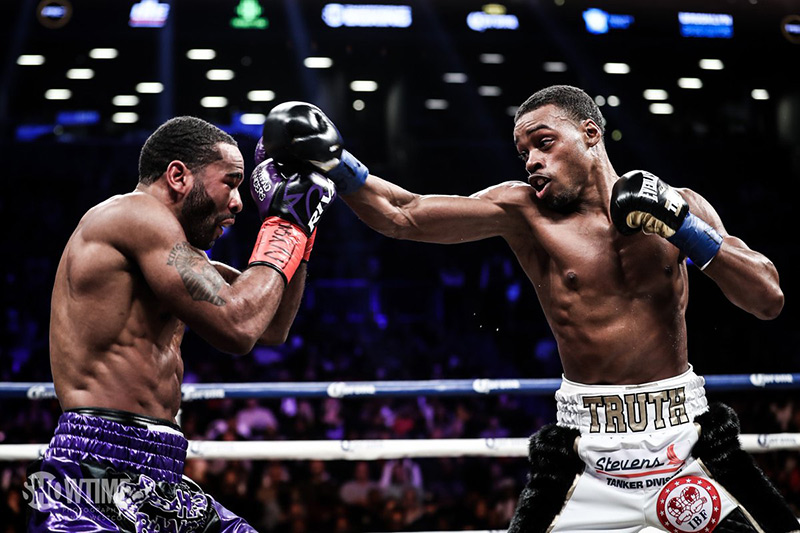 Spence States Case For Being Best Welterweight With