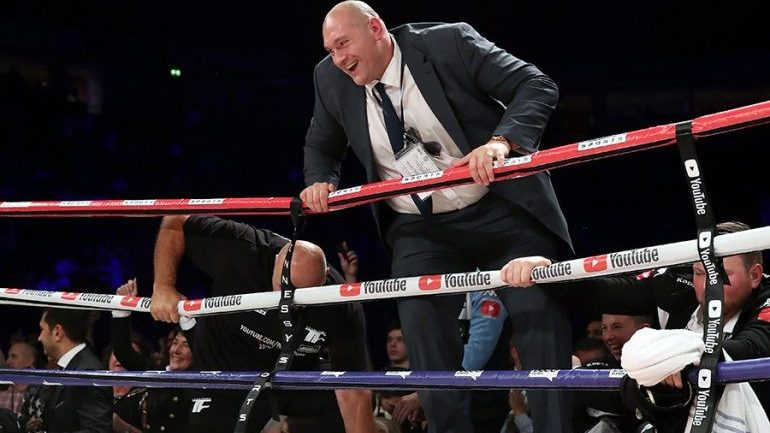 Tyson Fury comeback set for June 9 in Manchester