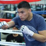VergilOrtizWorkout Hoganphotos2 150x150 - Vergil Ortiz Jr. devastating in third-round knockout win over Mauricio Herrera