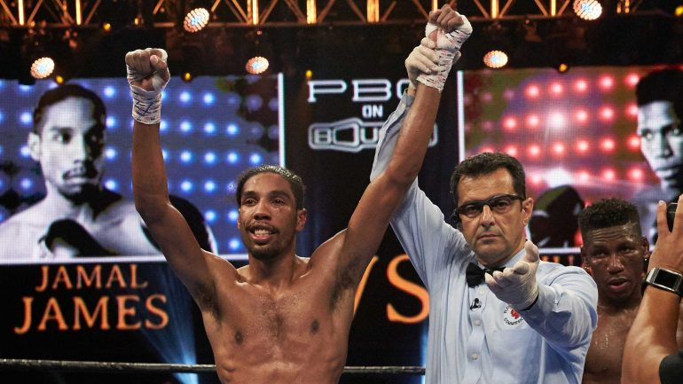 Jamal James: 'I'm coming to take over. I will be a world champion'