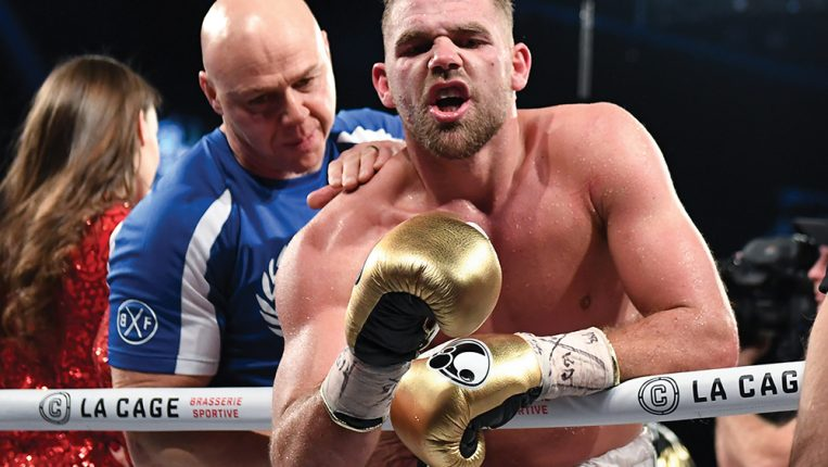 The Third Man Middleweight spoiler Billy Joe Saunders joins the elite